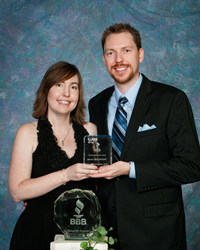 Boise Web Design and Graphic Design Company owners receive BBB Award