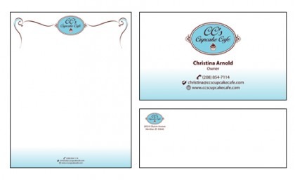 Corporate Identity: CC's Cupcake Cafe