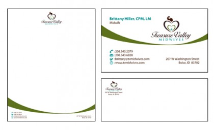 Corporate Identity: Treasure Valley Midwives
