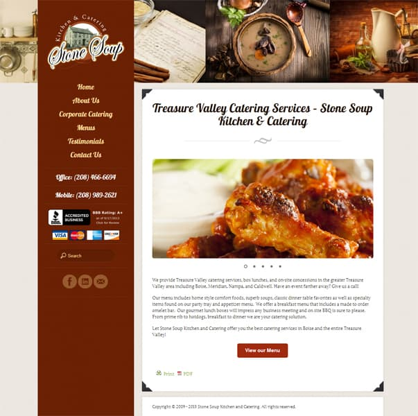 Stone Soup Website Redesign