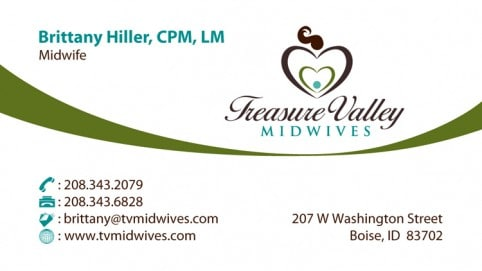 Treasure-Valley-Midwives-Business-Card-Front
