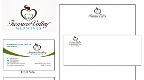 Treasure Valley Midwives - Corporate Identity