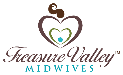 Logo Design: Treasure Valley Midwives